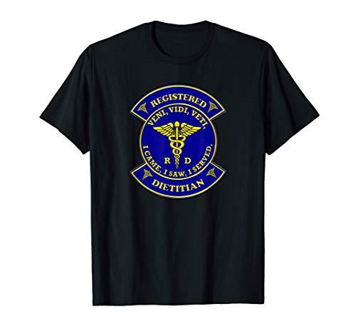 Registrierter Ernährungsberater Caduceus Shield T-Shirt