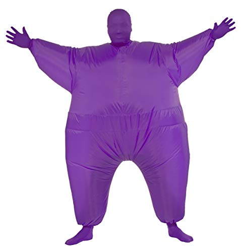 Rubie's Inflatable Full Body Suit Costume, Purple, One Size