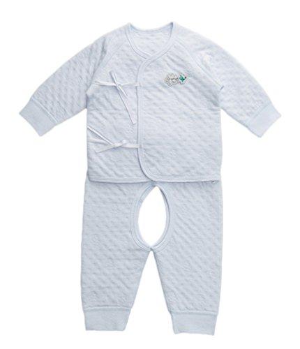 DQQ DQQ Baby Jungen (0-24 Monate) Schlafanzugoberteil Gr. S, Blau - Hellblau