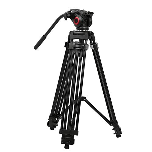 DAUERHAFT Supports 360 Degree Panoramic Tripod Comes with Padded Carry Bag Aluminum Alloy Tripod,for Home Camera