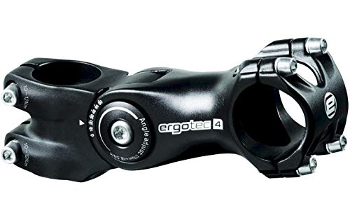 ergotec Octopus 2 Ahead Fahrrad Vorbau 31,8mm verstellbar, Lenker Vorbau für Mountainbike, MTB, Radfahren (105, 31,8mm)