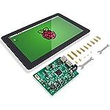 "SunFounder Raspberry Pi 10.1""HDMI 1280x800 IPS LCDタッチスクリーンモニター-Raspberry Pi 4 3B+,3B, 2 Model B, and RPi 1 B+, LattePanda, and PCに適用"