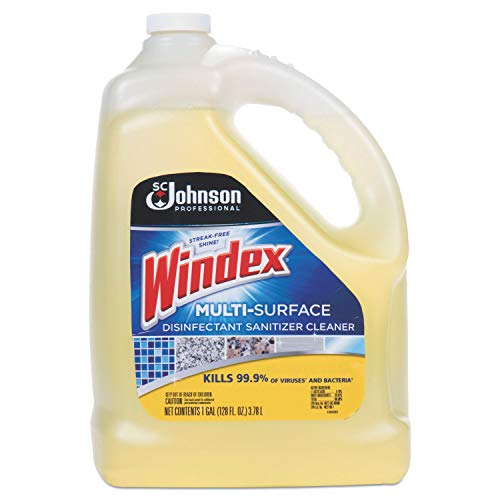 Windex 682265EA Multi-Surface Disinfectant Cleaner, Citrus, 1 gal Bottle