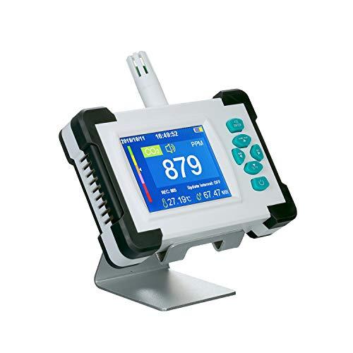 Abscheider Von Kohlendioxid Mit Akku-Tragbarer Co2-Meter-Tester Carbon Dioxid Meter Monitor Luft-Qualit2228;Tsdetektor