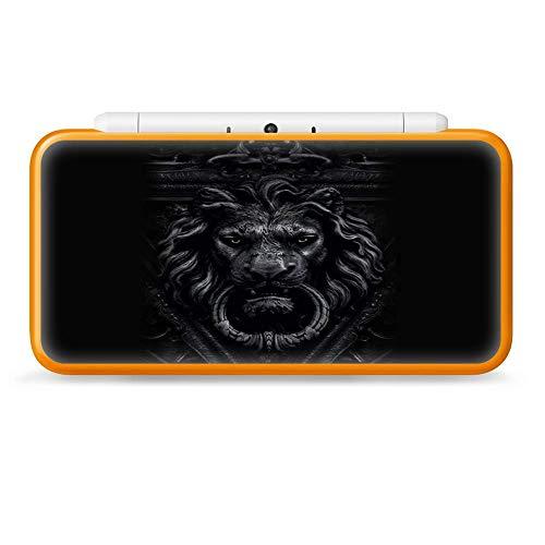 Nintendo 2DS XL Skin Decal Vinyl Wrap - Gothic Lion door knocker