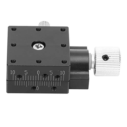 HTB25‑A X axes Dovetail Manual Trimming Platform Aluminum Alloy Fine‑Tuning Industrial Supplies Replace for Misumi XEG25/XFES25 Sliding Table