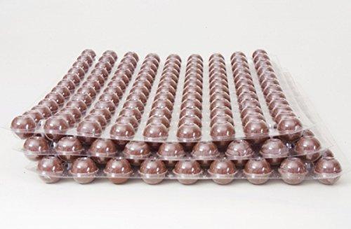 324 Stk. 3-Set Mini Schokoladen Hohlkugeln - Praline Hohlkörper Vollmilch