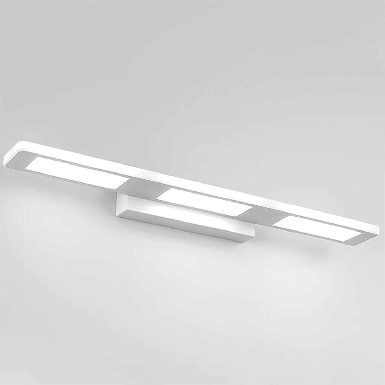 Moderne LED-Wandleuchte über dem Spiegel, der LED-Badezimmer-Rost u. KorrosionsBestendigkeits-Licht-Eitelkeits-Spiegel beleuchtet, bilden Leuchte, kühles Licht, Quadrat,55cm