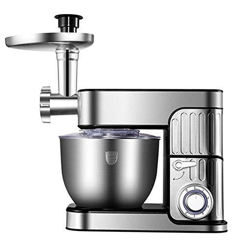 Batidora Amasadora, Robot De Cocina Multifunción Con Batidor K, Gancho Para Masa, Batidor De...