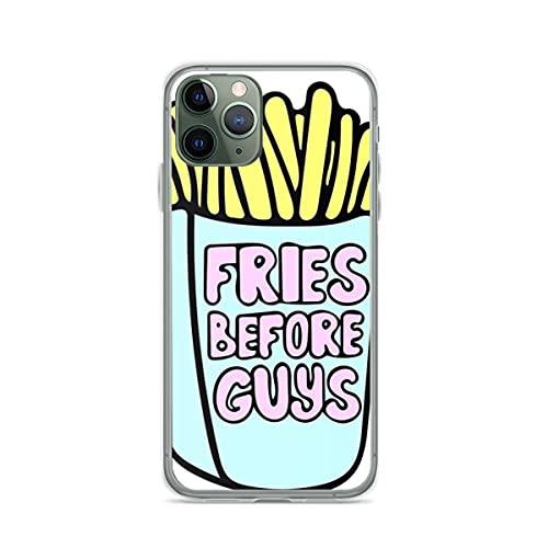Funda para teléfono con diseño de patatas fritas antes de chicos compatible con iPhone 7 Plus/8 Plus, antigolpes