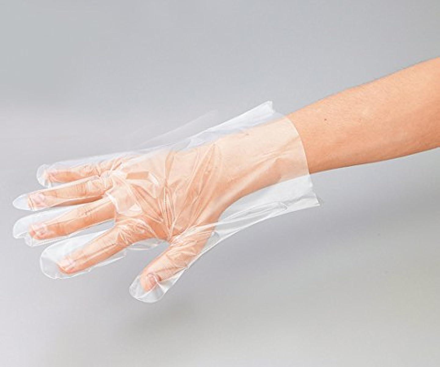 むしゃむしゃパニックしたがってプロシェア ポリエチレン手袋 エンボス無 L /8-2587-01