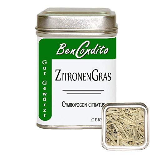 BenCondito I Zitronengras (Lemongras) - geschnitten 30 Gr. Dose