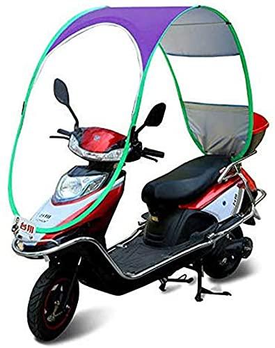 J&X Tabla de la Motocicleta, Techo de Moto, Parabrisas eléctrico Tarifón de...