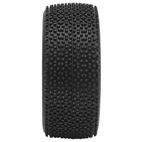 Ruedas RC, Neumático Trasero RC Neumático Trasero de Repuesto de Goma Neumático 1/12 RC Neumático para Mejorar la Estabilidad