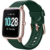 Letsfit Smart Watch, Fitness Tracker with Heart Rate Monitor, Activity Tracker with 1.3' Touch Screen, IP68 Waterproof Pedometer Smartwatch with Sleep Monitor, Step Counter for Women and Men