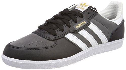 adidas Leonero, Zapatillas para Hombre, Negro (Core Black/Footwear White/Grey Five 0), 42 2/3 EU