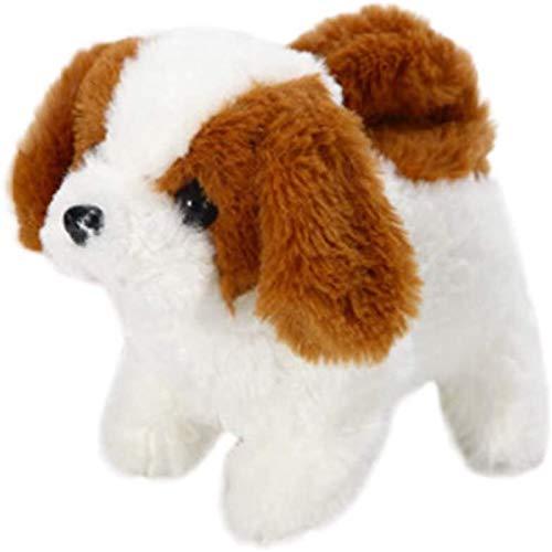 LGYKUMEG Adorable Cachorro electrónico Interactivo Perro Robot Juguetes eléctricos robóticos Mascotas Caminar...