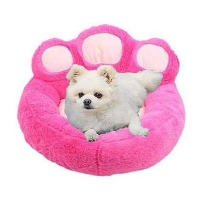 Coding Cama para mascotas, lavable, cama para gatos, extraíble, sofá para perros con cremallera, suave, cama para perros y gatos (rosa, XL)