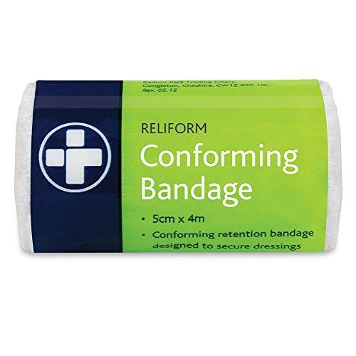 Reliance Medical 5cm x 4m White Reliform Conforming Bandage - Pack of 10