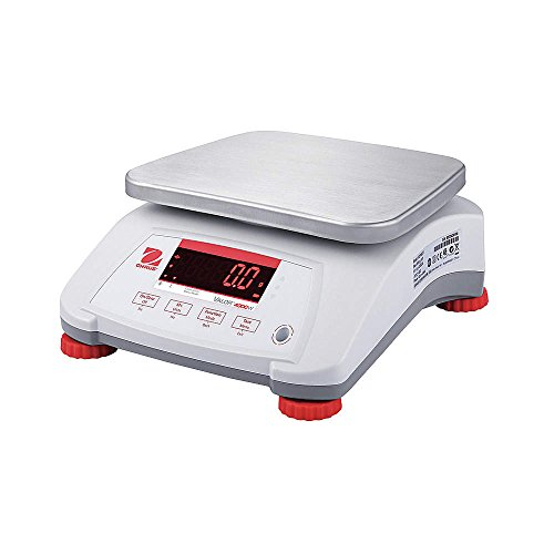 Ohaus V41PWE6T Valor 4000 Compact Bench Scale, 6 kg Capacity
