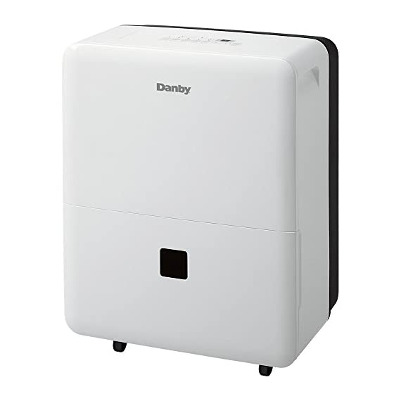 Danby DDR30B3WP Premiere Dehumidifier, 30 Pint, White 1 30 Pint Capacity for 24 Hours For Areas up to 1500 Square Feet depending on conditions Energy Star compliant