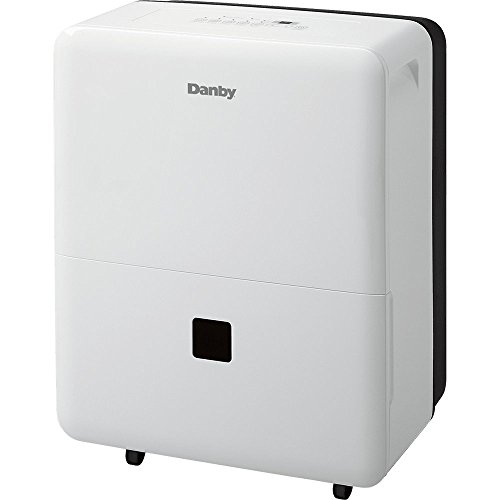 Danby DDR30B3WP Premiere Dehumidifier, 30 Pint, White