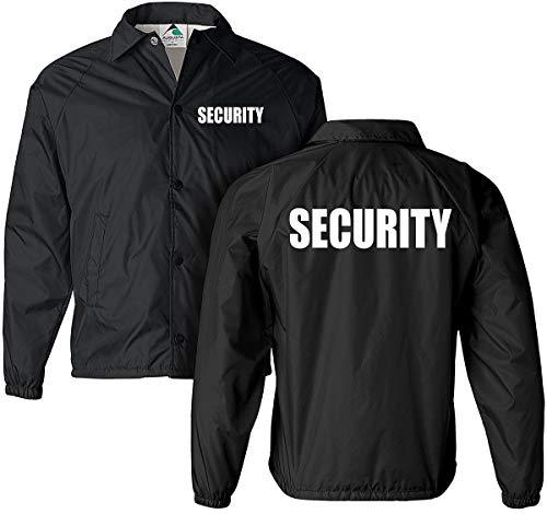 Smart People Clothing Security Jacket, Nylon, Security Guard Jacket, Law Enforcement, Windbreaker Navy