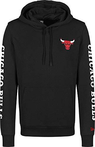 New Era NBA Sleeve Wordmark Hoody Chibul Sweatshirt für Herren XXL Schwarz