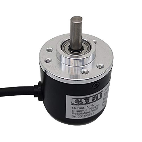 Incremental Optical Rotary Encoder 100 200 360 500 100 PPR A B 90° Phase NPN PNP Open Collector Out (5V-Voltage, 1000)