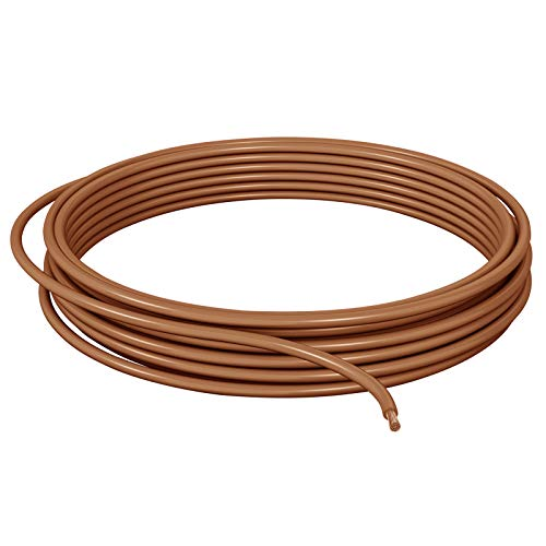 DCSk 1,5 mm² - 10 m Fahrzeugleitung FLRY B asymmetrisch - KFZ-Kabel Litze - braun -10 m Ring