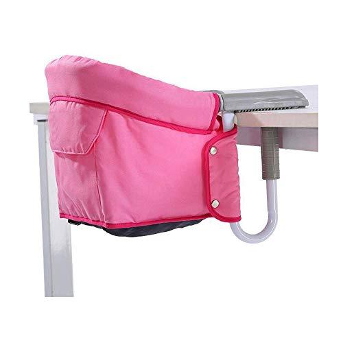 Tafel en stoel, draagbaar, voor baby's, gemakkelijk te reinigen, afneembaar, antislip, stabiel voor baby's, met opbergtas.