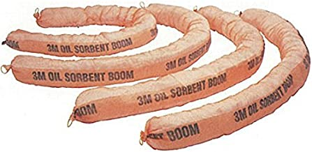 3M T-270 Polypropylene and Polyester Sorbent Boom, Plastic, 1