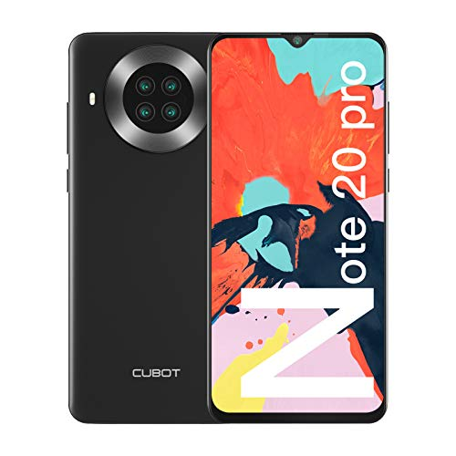 CUBOT Note 20 Pro Cellulari Offerte, 8GB RAM + 128GB ROM Octa Core Smartphone, 6.5 pollici HD+ Cellulare Android 10, Quad Camera 12MP + 20MP, 4200 mAh Telefono 4G Dual SIM, NFC, GPS, Face ID