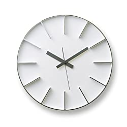 Lemnos edge clock white AZ-0115 WH