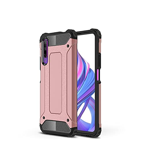 BAOFA Cáscara del teléfono Estuche Protector para Huawei Honor 9X / 9X Pro / Y9S / P Smart Pro Case TPU + PC Parachoques Dual Capa de Doble Capa Protectora híbrida Hybrid Caja Resa Funda Protectora