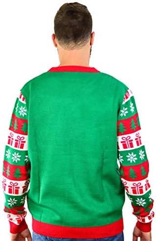 Weihnachts-Strickpullover