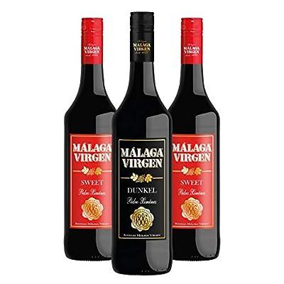 Malaga Virgen Sweet 75cl + Malaga Virgen Dunkel - 3 bottles Pack