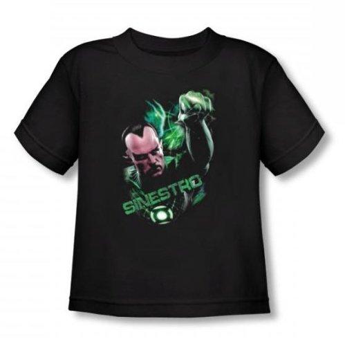 Green Lantern - - Tout-petit anneau Sinestro T-shirt In Black, 2T, Black