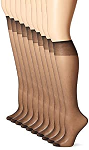 Enjoy the classic fit of L'eggs hosiery, every day Light, comfortable stay-put band Perfect for today's more casual wardrobes