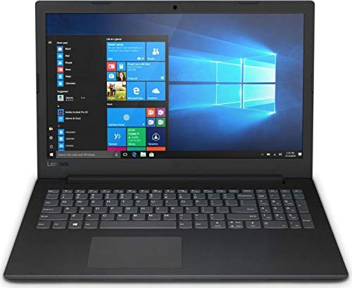 Lenovo (15,6 Zoll HD matt) Laptop (AMD A4-9125 2.3 GHz DualCore, 4GB RAM, 256GB SSD, AMD Radeon R3,WLAN, Bluetooth, HDMI, USB 3.0, Windows 10 Pro) schwarz