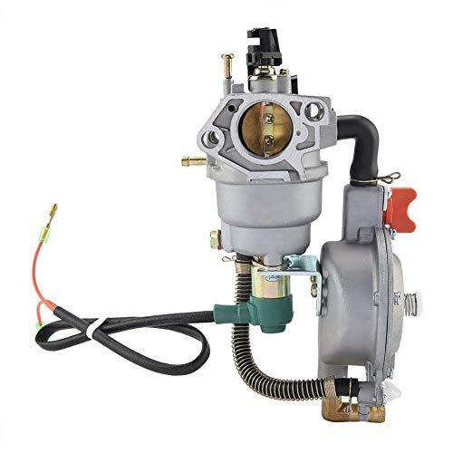 Fditt Carburador para GX390 188F 190F Generador de Gas