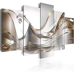 Idea Regalo - B&D XXL murando Quadro su Vetro Acrilico200x100 cm - 5 Parti Quadro Moderno Impreso Stampa Immagini Murale Fotografia Decorazione da Parete a-A-0004-k-o