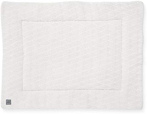 Jollein Krabbeldecke Laufgittereinlage 80x100 cm River knit cream white