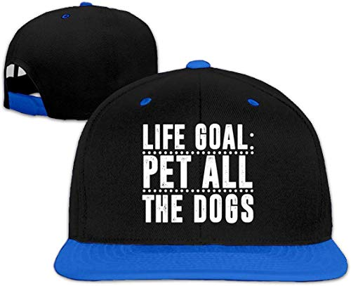 Preisvergleich Produktbild Life Goal Pet All The Dogs Hip Hop Snapback Baseball Hat Adjustable Men Blue HJASKJDSNAHIWQASD 14070