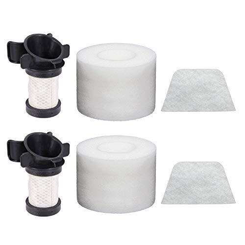 Extolife Replacement Filters for Shark ION Flex DuoClean X30 X40 F60 F80 IF200 IF201 IF202 IF205 IF251 IF252 IF281 IF282 IF285 UF280 IC205 IR70 IR100 IR101, 2Foam 2Felt 2Hepa, XPREMF100