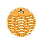 (30 Pack) Urinal Screens Deodorizer (Orange) Scent, Urinal Cake, Anti-Splash & Odor Freshener, Scent Lasts for Up to 5000 Flushes –Ideal for Bathrooms, Restrooms, Office, Restaurants, Schools…