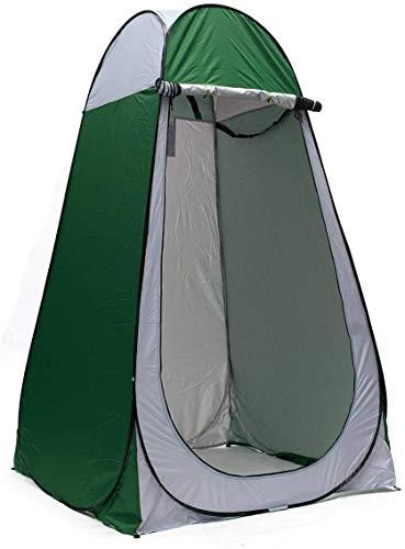 Wandern Camping-Zelt, wasserdichtes bewegliche 1.2x1.2x1.9m Pop-up-Zelt Camping Outdoor-Shelter anybz (Color : Green)