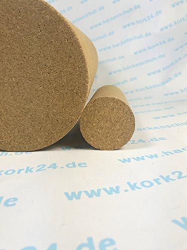 Kork Yoga Faszienrolle - natürliche Yogarolle aus Kork - rutschsicher und natürlich (150 x 55 mm)