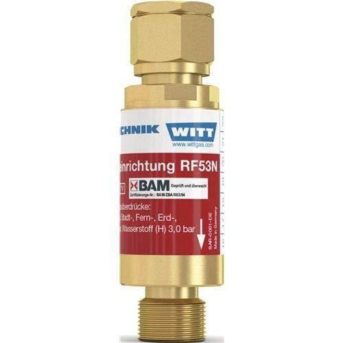 Witt Sicherheitseinrichtung TYP RF 53 N G 1/4Zoll RH O2,Druckluft,n.brennbare Gase