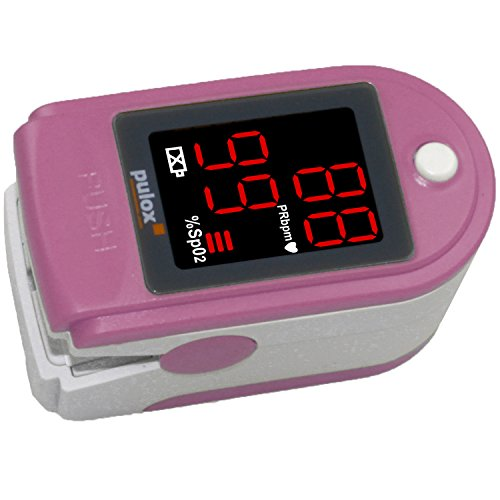 Pulsoximeter PULOX PO-100 Solo in Pink